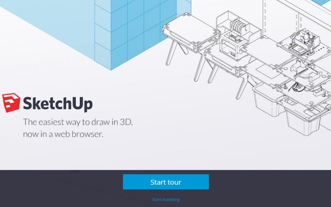 sketchup di google disegno 3d facile 3d 4growth