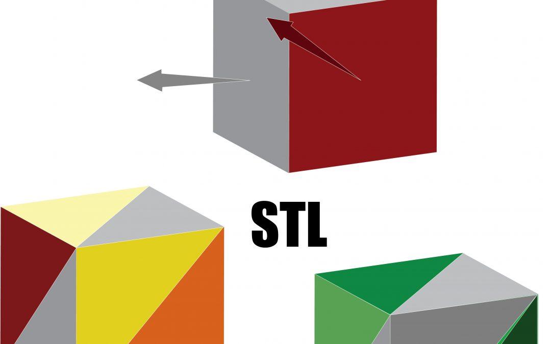 file stl: il file della stampa 3d