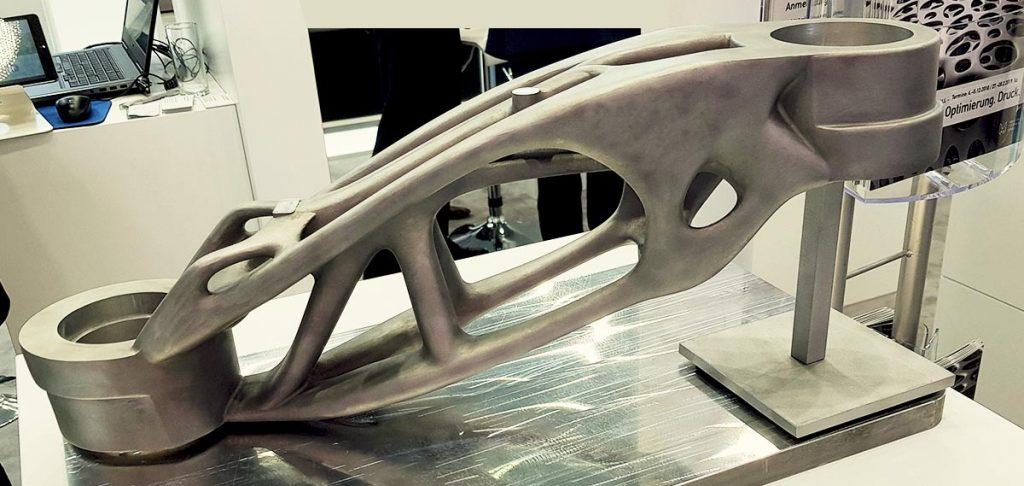 materiali di stampa 3d metalli - foto Francesco Puzello Formnext evento stampa 3d