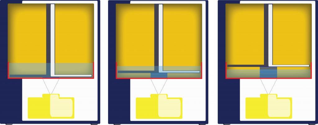 stampante 3d DLP sequenza di funzionamento - Francesco Puzello