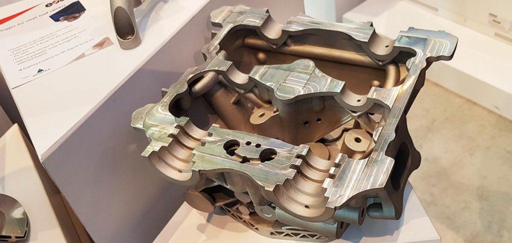 stampante 3d metal additive manufacturing - foto Francesco Puzello - Formnext Francoforte