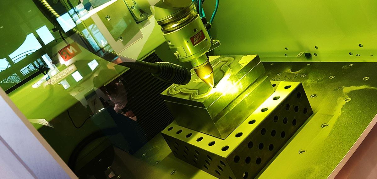stampante 3d metalli - foto Francesco Puzello - Formnext Frankfurt