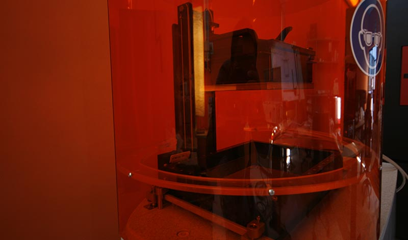 DLP additive manufacturing - Stampante 3d Envisiontec Perfactory