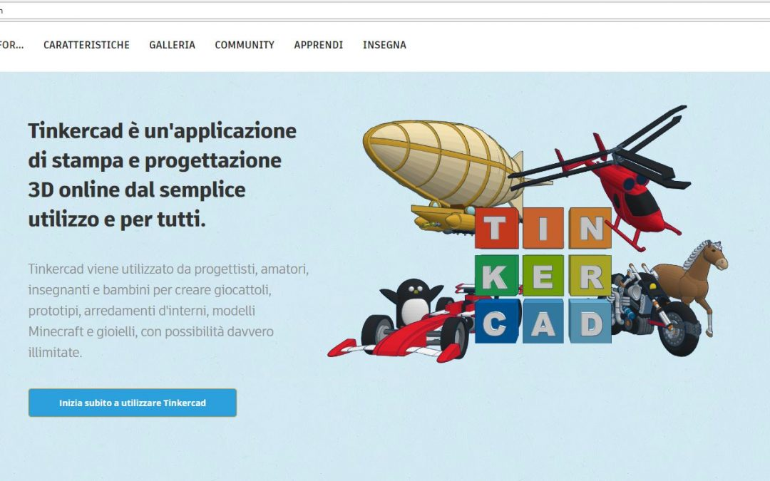 Tinkercad disegno circuiti e stampa 3d 3d 4growth for Disegno 3d online