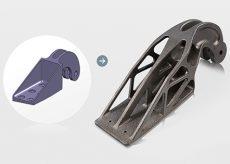 Eos ottimizzazione topologica e stampa 3d metalli - airbus
