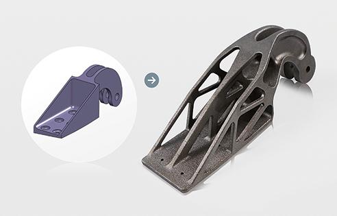 Ottimizzazione topologica e stampa 3d: componenti leggeri per l'industria