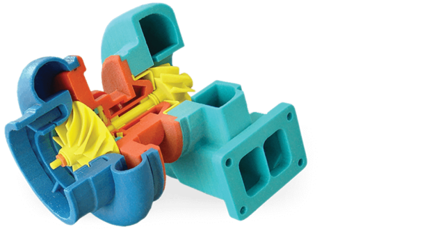 Stampante 3D a colori 3d-systems-odm-cjp-turbo-charger