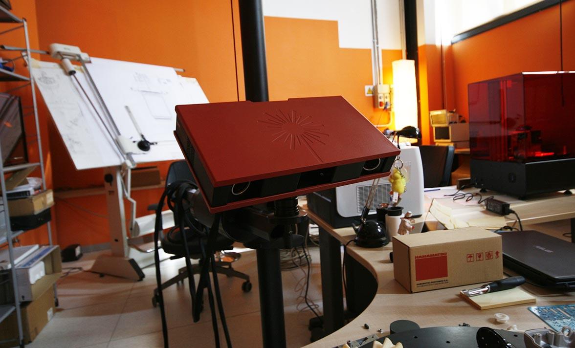 scansione 3d scanner precisione stampa 3d