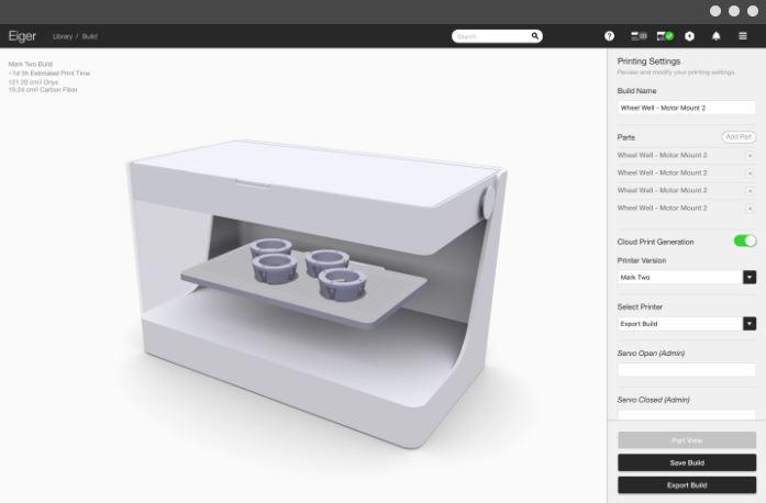 software stampa 3d per metalli Markforged