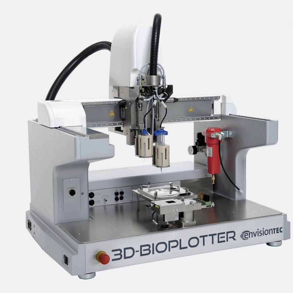 Stampante 3d bioplotter envisiontec