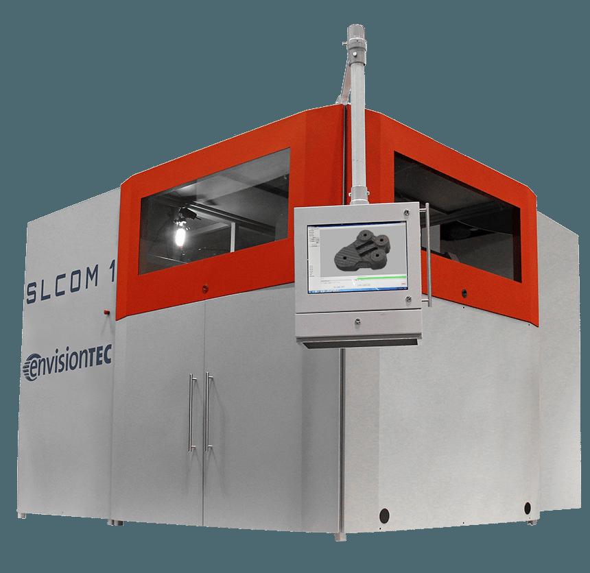 stampante 3d industriale laminati fibra SLCOM-envisiontec