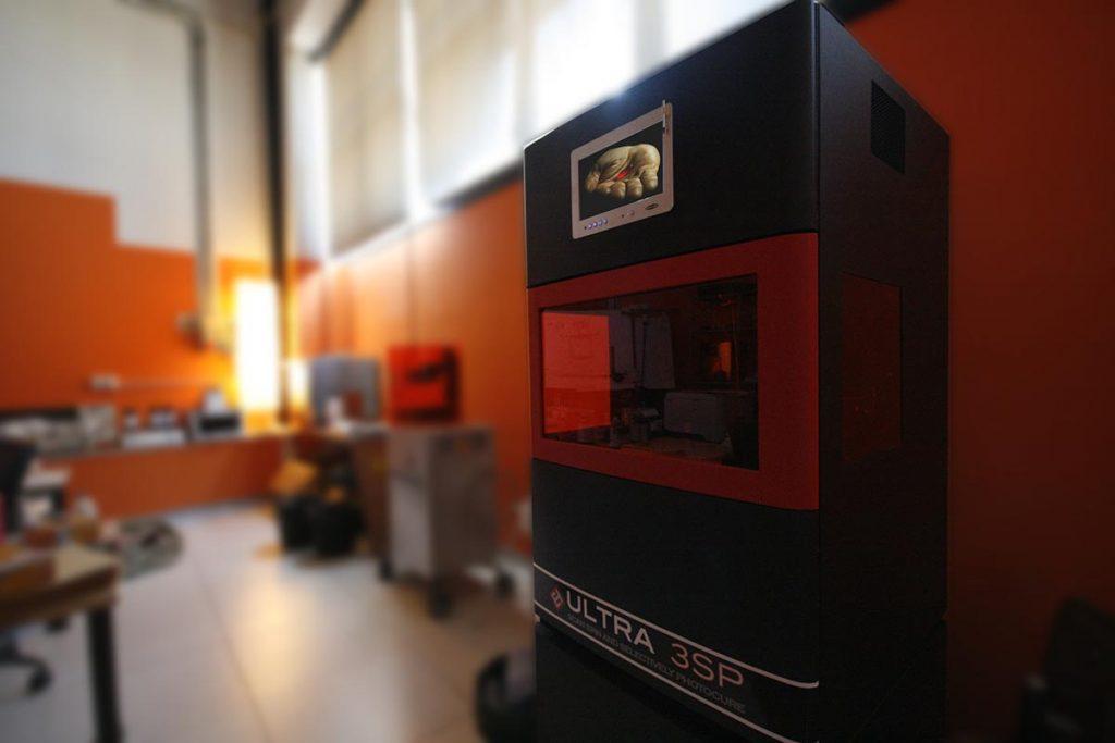 stampante 3d industriale professionale - envisiontec Ultra 3SP HD