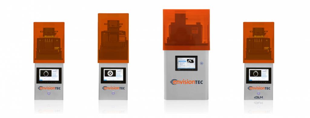stampanti 3d desktop envisiontec