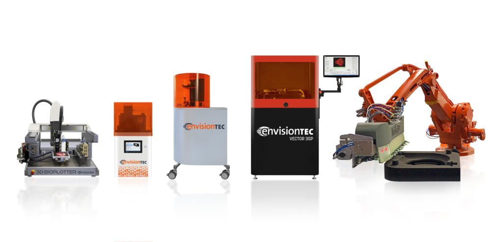 stampante 3d professionale envisiontec
