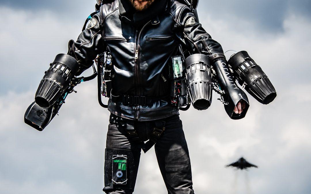 Jet Suit: Gravity ed EOS prendono il volo grazie alla stampa 3d