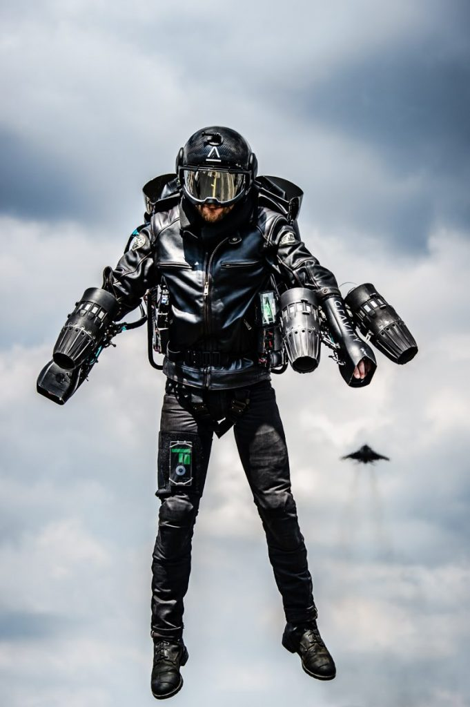 Jet Suit 3d EOS & Gravity