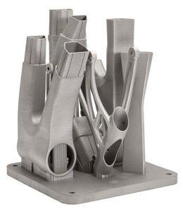 Renishaw - stampa 3d metalli - materiali e polveri