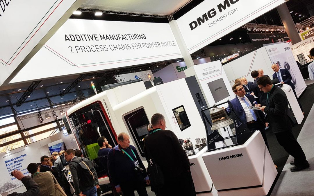 DMG Mori: Laser metal deposition e hybrid additive manufacturing