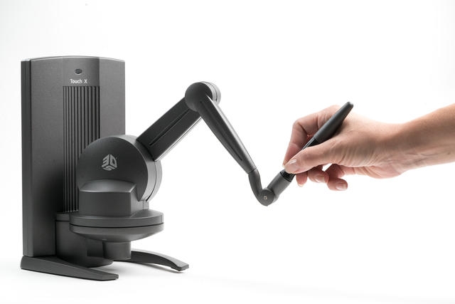 software 3d systems modellazione Touch_X_Haptic