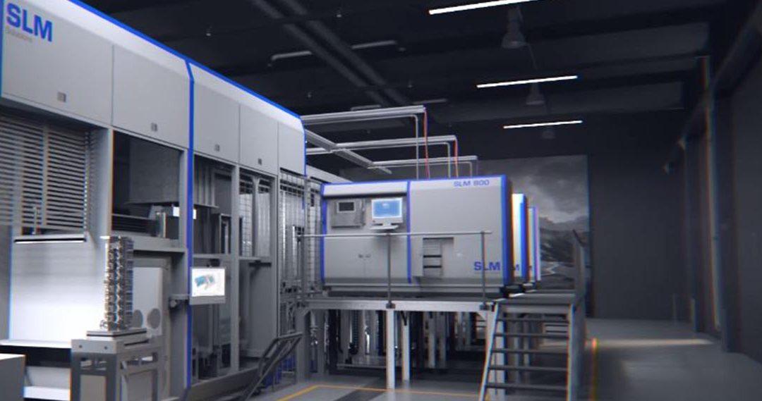 SLM: stampanti 3d per Metal Additive Manufacturing
