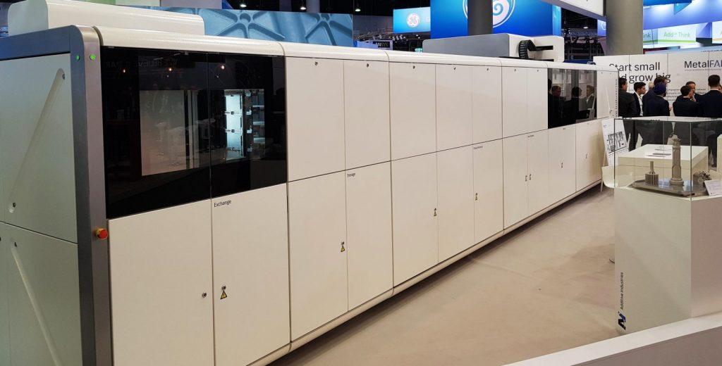 Stampa 3d industriale - Additive Industries - foto Francesco Puzello - Formnext Frankfurt