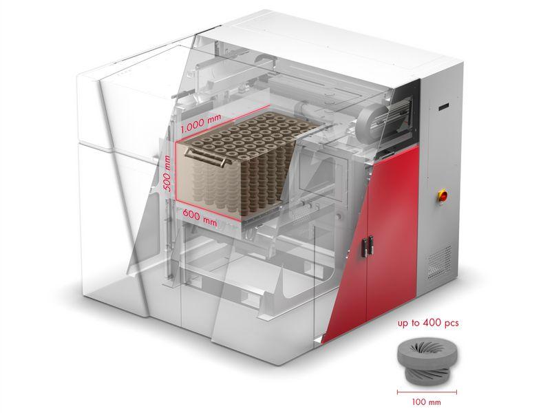Voxeljet - VX1000 stampante 3d ceramica