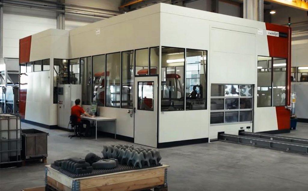 Voxeljet VX4000 - stampante 3d industriale grande formato