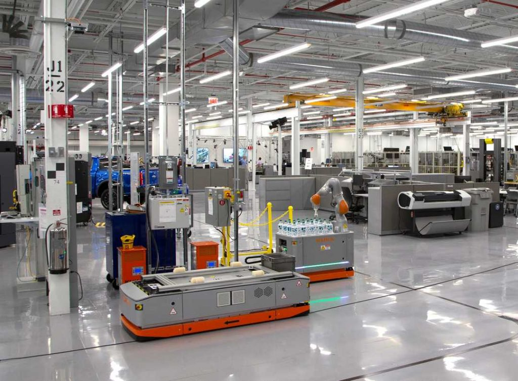 stampa 3d automobili - ford advanced manufacturing center