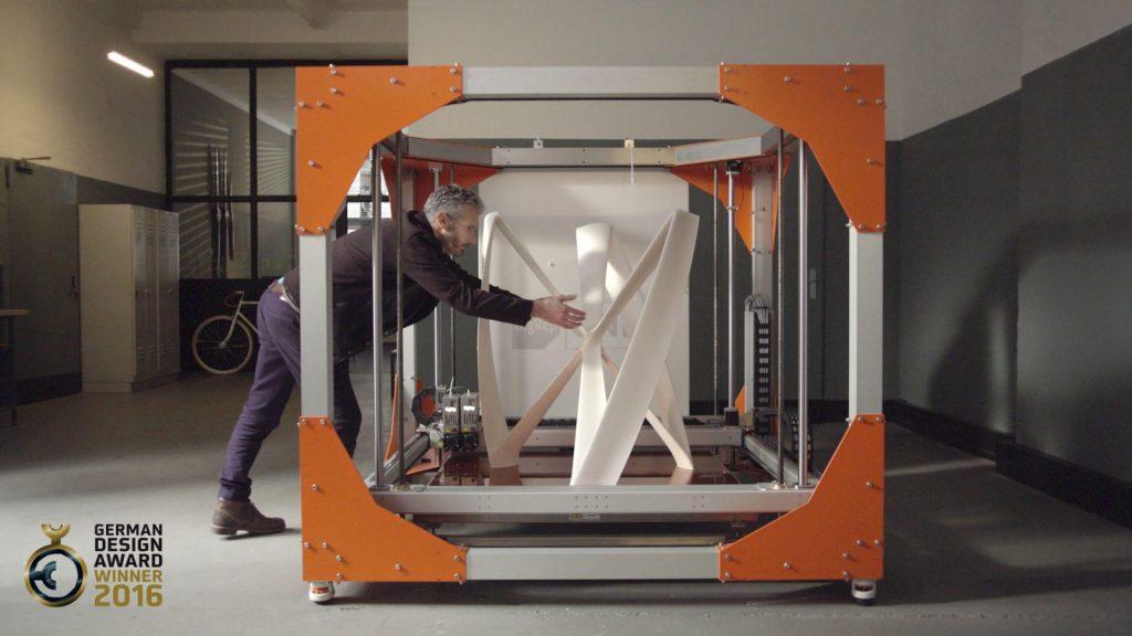 stampante 3d grandi dimensioni BigRep-one