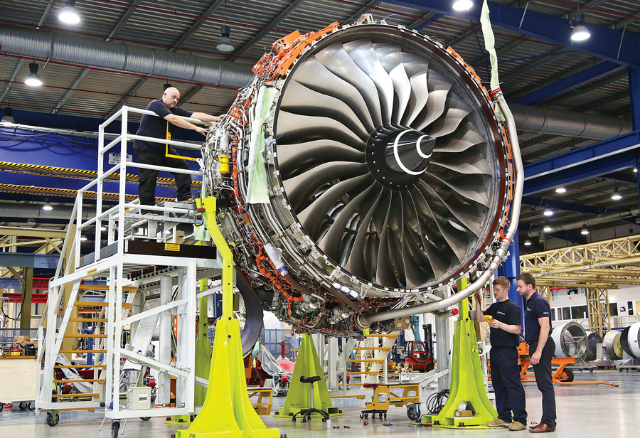 Rolls Royce additive manufacturing