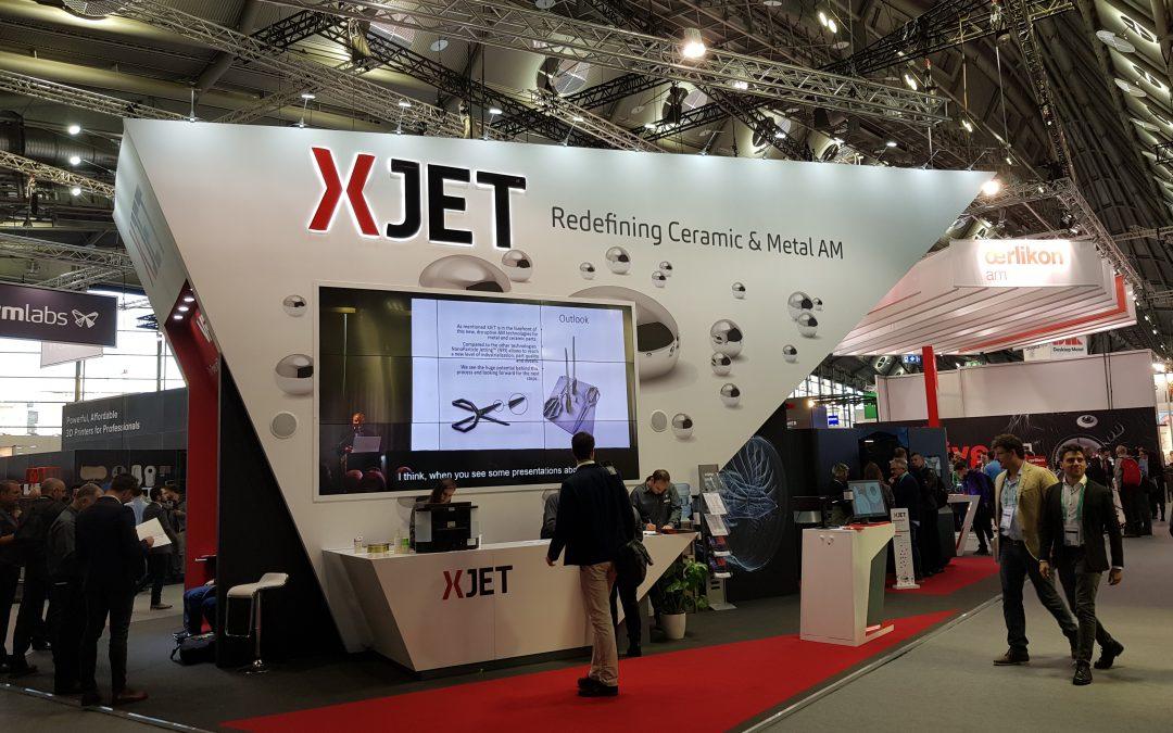 Stampa 3d in ceramica di XJet per le nuove antenne 5G