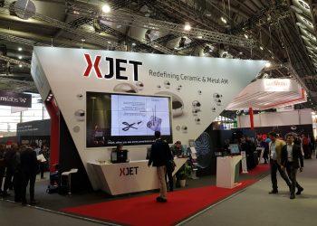 xjet nano particle jetting 3d printing antenna 5g