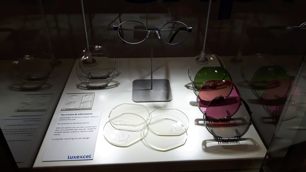 Luxexcel: stampa 3d di lenti per occhiali