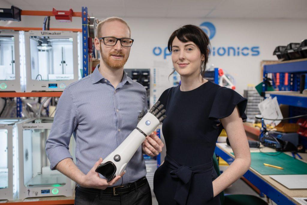 Open Bionics - Joel Gibbard CEO and Samantha Payne COO