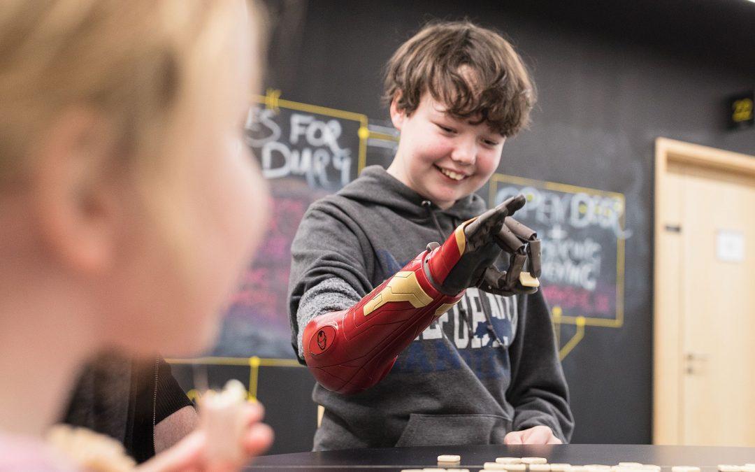 Open Bionics: stampa 3d di protesi per supereroi… e non solo