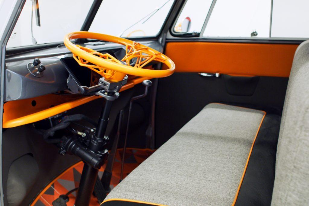 stampa 3d volante veicolo elettrico volkswagen