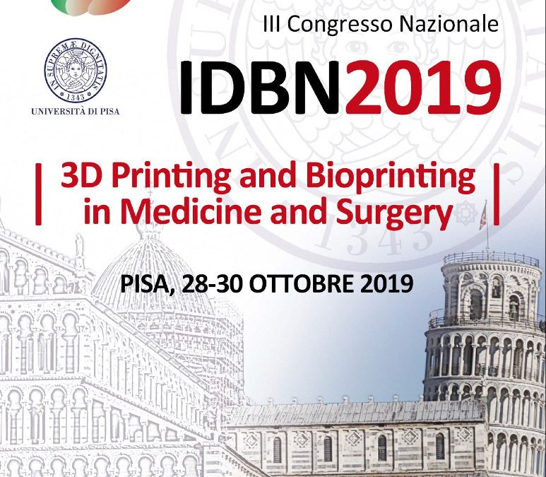 3D Bioprinting: III° Congresso IDBN Italian Digital Biomanufacturing Network