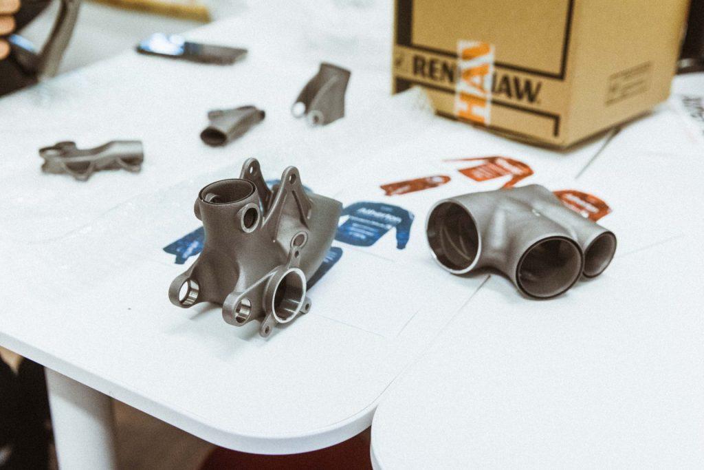 renishaw titanio bici stampa 3d