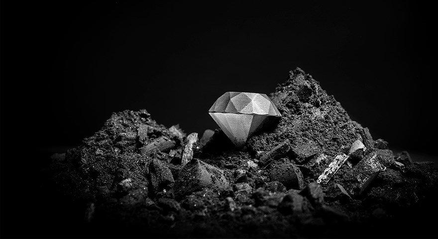 sandvik composito diamante stampato 3D