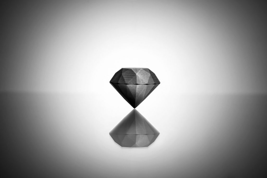 stampa 3d diamante sandvik
