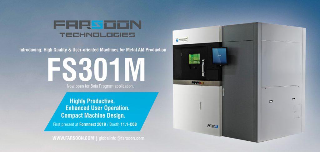stampante 3d farsoon FS301M