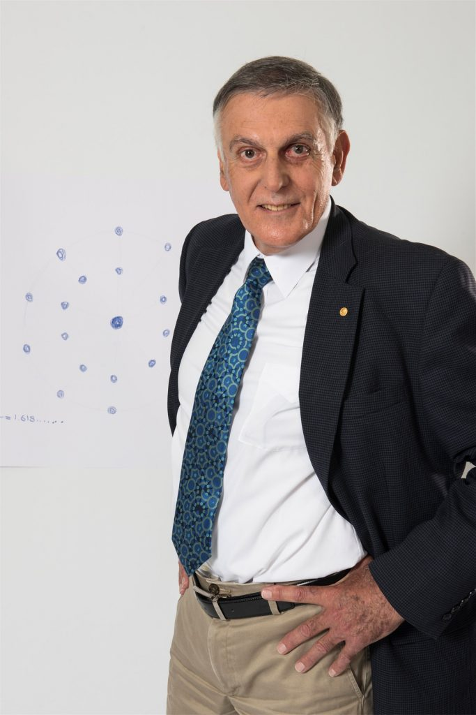 Professor Dan Shechtman (CREDIT photo by Volker Steger)