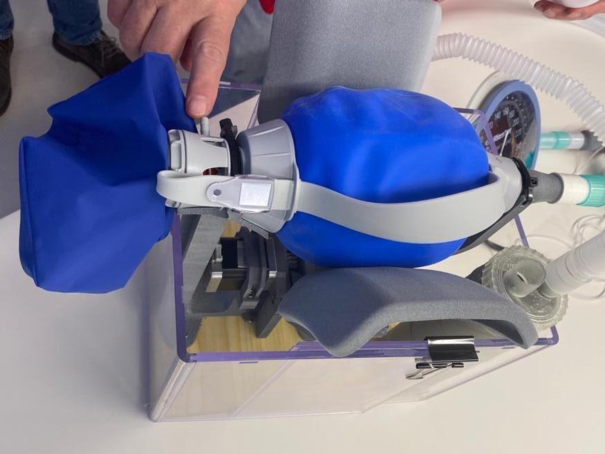 stampa 3d respiratore covid emergenza