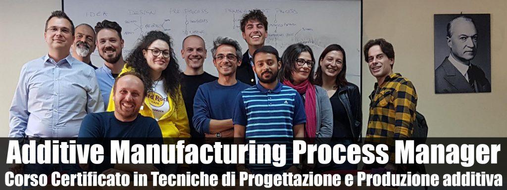 corso stampa 3d - additive manufacturing process manager - foto francesco puzello