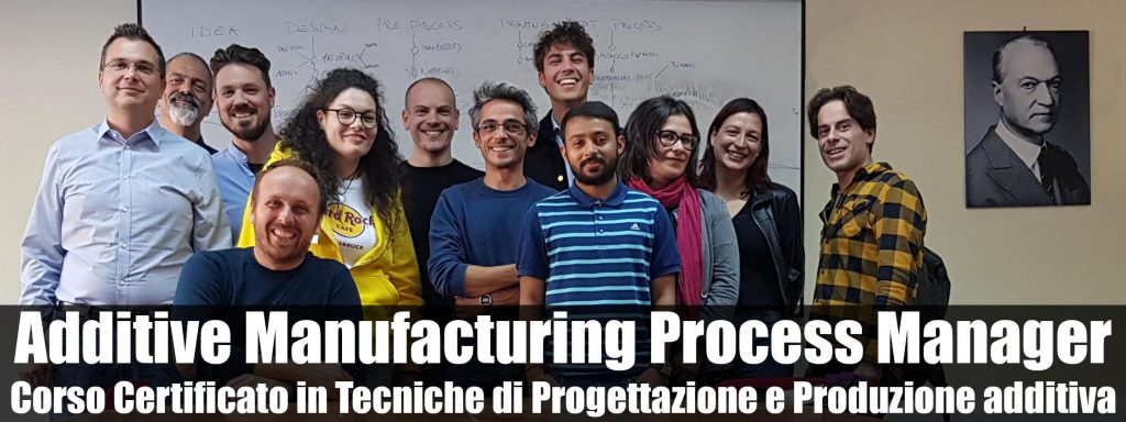 corso stampa 3d - additive manufacturing process manager - foto francesco puzello