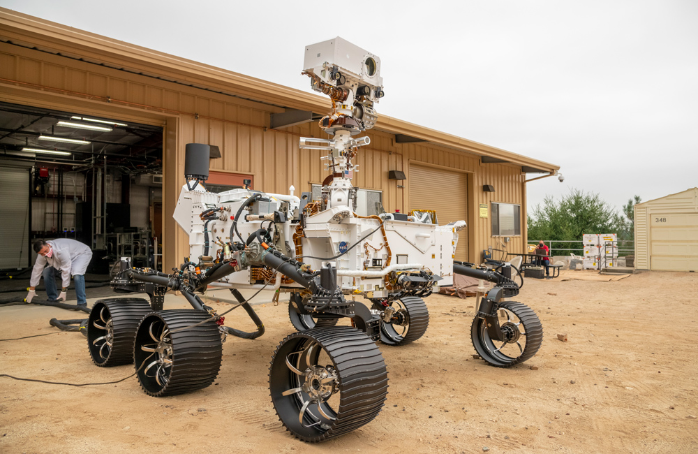perseverance stampa 3d rover marte
