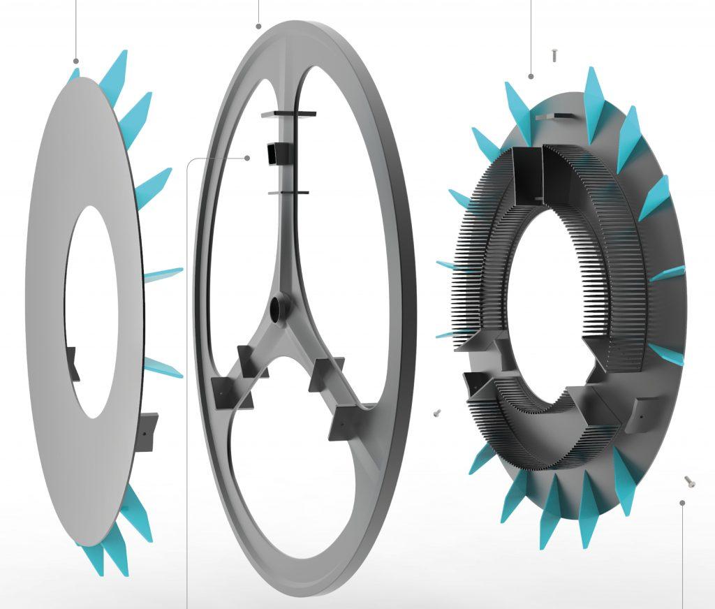rolloe stampa 3d bici purifica aria