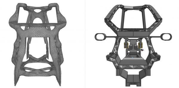 stampa 3d auto elettrica