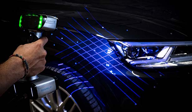 shining 3d scanner stampante software