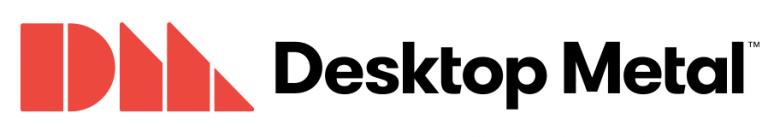 Desktop metal stampante 3d metallo logo